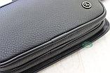 Мужская барсетка, кобура, поясная сумка, бананка из натуральной кожи HT Leather, фото 7
