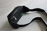 Мужская поясная сумка, барсетка кобура из натуральной кожи, фото 3