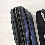 Мужская барсетка, сумка мессенджер через плечо НТ, фото 7