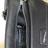 Мужская барсетка, сумка через плечо из кожи JAGUAR, фото 8