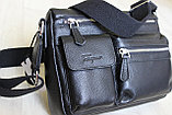 Мужская сумка, барсетка из натуральной кожи S.F., фото 2