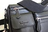 Мужская сумка, барсетка из натуральной кожи S.F., фото 3