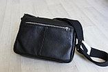 Мужская сумка, барсетка из натуральной кожи S.F., фото 4