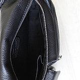 Мужская сумка, барсетка из натуральной кожи S.F., фото 7