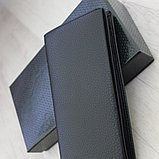 Мужское удлиненное кожаное портмоне МВ, фото 9