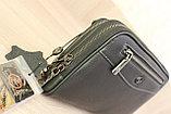 Мужская барсетка из натуральной кожи HT leather, фото 3