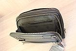Мужская барсетка из натуральной кожи HT leather, фото 10