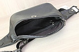 Мужская кожаная барсетка, кабура, бананка,нагрудная сумка A.Jeans, фото 7