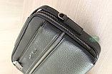 Мужская барсетка, сумка через плечо HT leather, фото 5