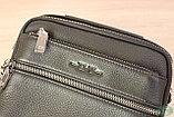Мужская барсетка, сумка через плечо HT leather, фото 6