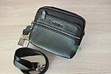 Мужская барсетка, сумка через плечо HT leather, фото 7