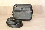 Мужская барсетка, сумка через плечо HT leather, фото 10