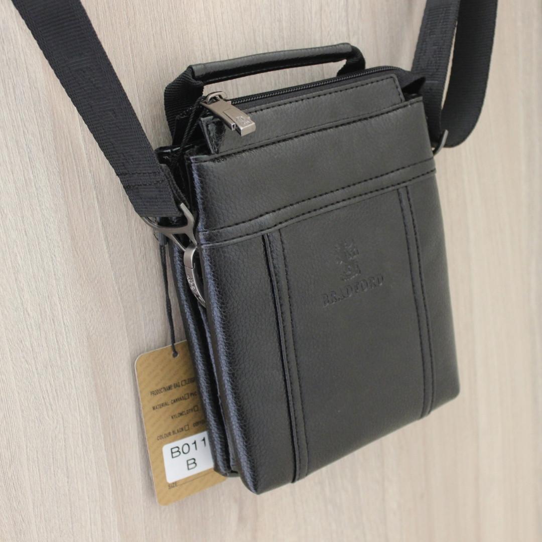 Мужская сумка барсетка через плечо Bradfod