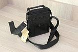Мужская сумка барсетка через плечо Bradfod, фото 5