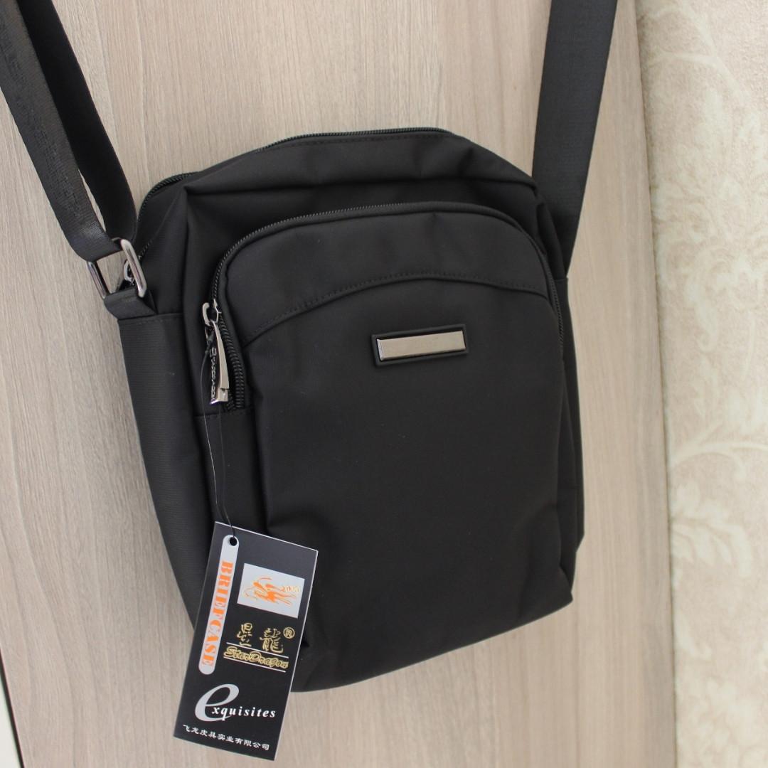 Мужская сумка барсетка мессенджер,через плечо