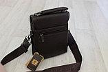 Мужская барсетка, сумка через плечо Bradfod, фото 2