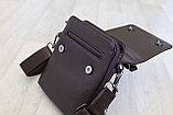 Мужская барсетка, сумка через плечо Bradfod, фото 4