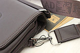 Мужская барсетка, сумка через плечо Bradfod, фото 8