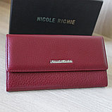 Женское портмоне из натуральной кожи NicoleRichie, фото 7