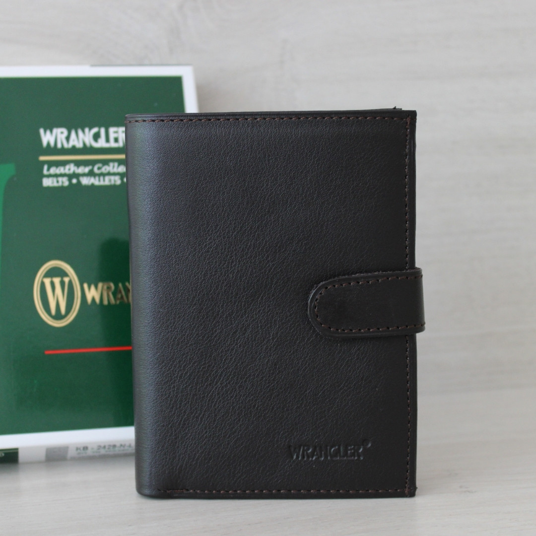 Мужское портмоне из натуральной кожи Wrangler India