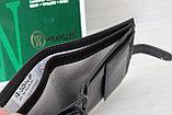 Мужское портмоне из натуральной кожи Wrangler India, фото 2