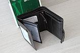 Мужское портмоне из натуральной кожи Wrangler India, фото 4
