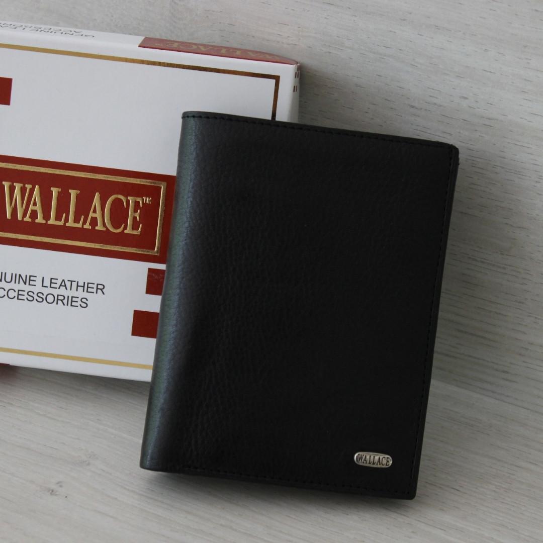 Мужское портмоне из натуральной кожи Wallace India