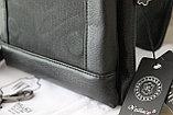 Мужская сумка барсетка из натуральной кожи, Индия, фото 5