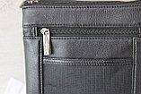 Мужская сумка барсетка из натуральной кожи, Индия, фото 7