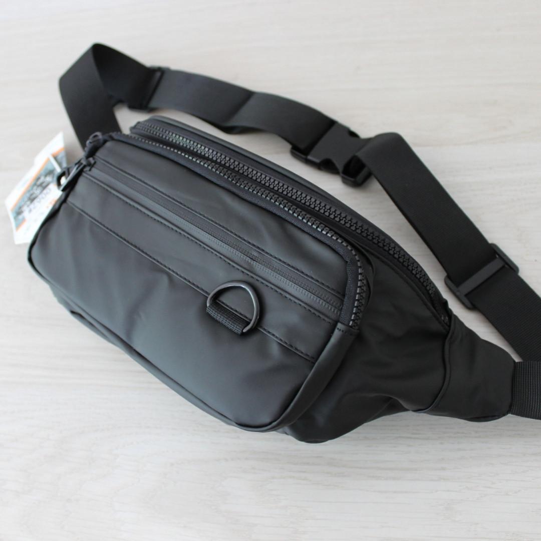 Мужская борсетка бананка, нагрудная сумка, сумка на пояс