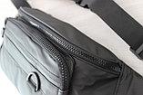 Мужская борсетка бананка, нагрудная сумка, сумка на пояс, фото 6