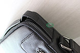 Мужская барсетка сумка через плечо ВВ, фото 3