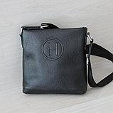 Мужская сумка планшет из кожи, фото 2