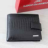 Мужское портмоне из натуральной кожи KAOBERG, фото 8