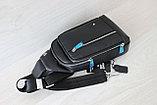 Мужская барсетка, кобура, нагрудная сумка МВ, фото 8