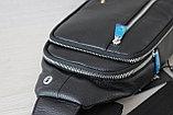 Мужская барсетка, кобура, нагрудная сумка МВ, фото 9