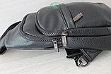 Мужская барсетка Кобура, нагрудная сумка, фото 4