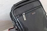 Мужская барсетка сумка через плечо из натуральной кожи, фото 2