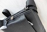 Мужская сумка через плечо НТ натуральная кожа, фото 3