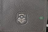Мужская кожаная сумка барсетка BRADFORD, коричневый, фото 7