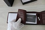 Мужское портмоне из натуральной кожи PRATERO, фото 6