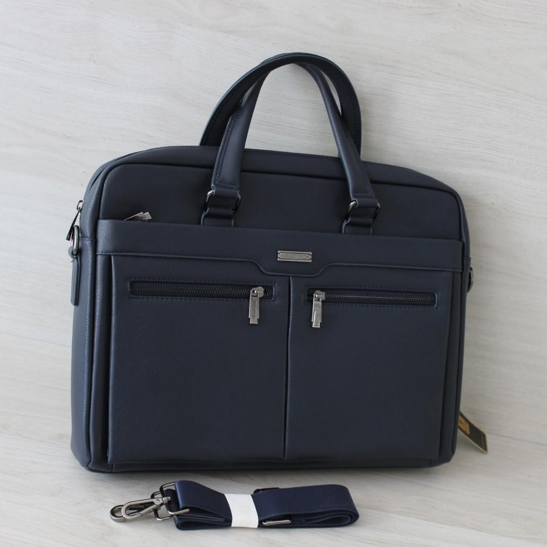 Мужской деловой портфель, сумка для документов,планшета и ноутбука