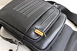 Мужская бизнес сумка, барсетка HT, фото 6