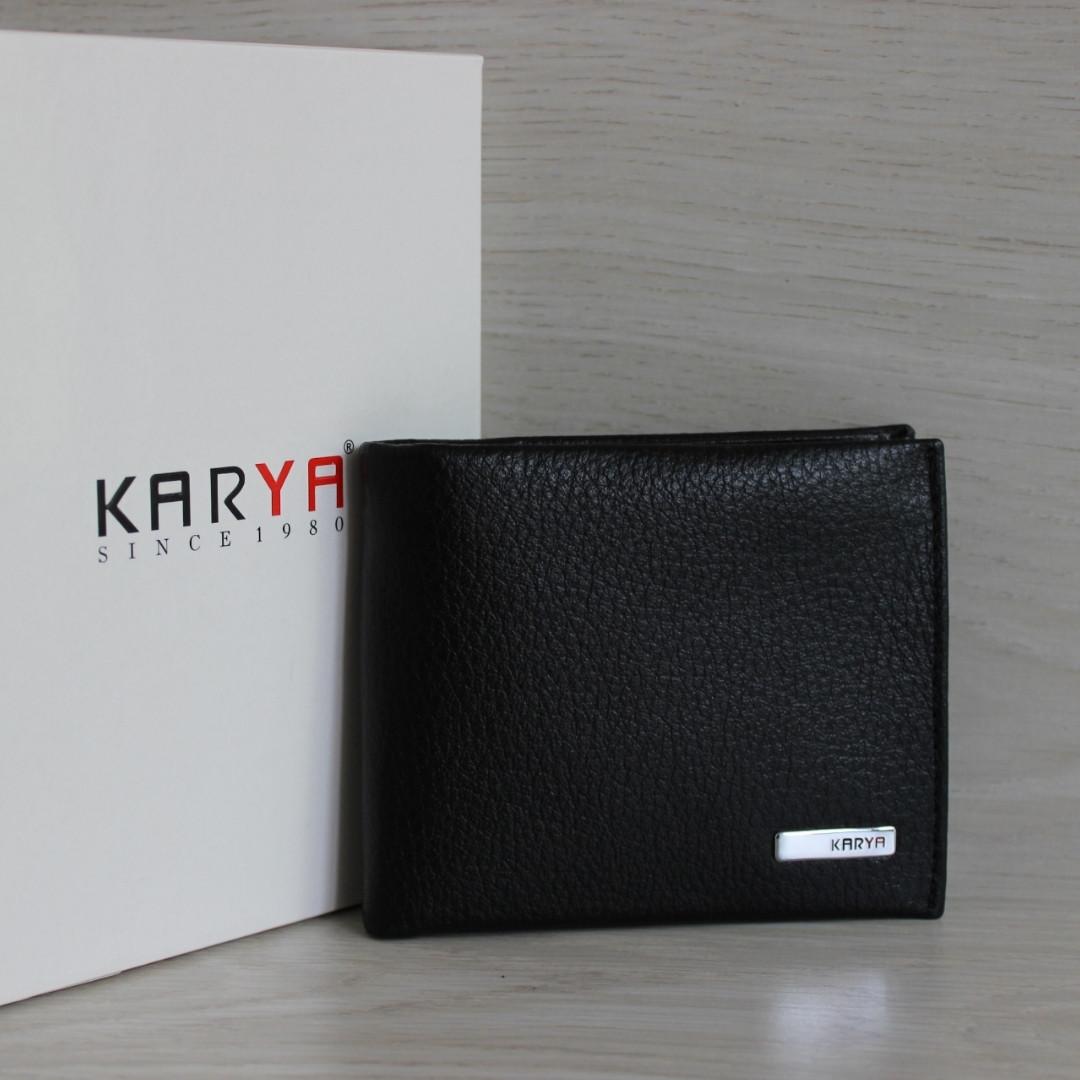 Мужское портмоне из натуральной кожи Karya