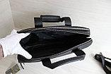 Мужская бизнес сумка, деловой портфель НТ Натуральная кожа, фото 6