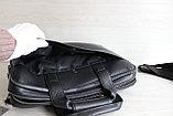 Мужская бизнес сумка, деловой портфель НТ Натуральная кожа, фото 8