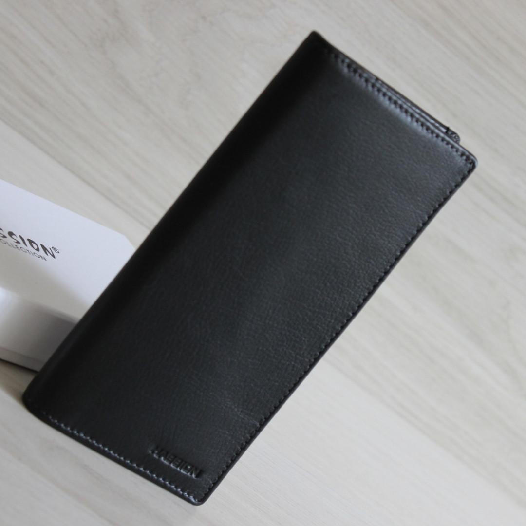HASSION Мужское портмоне из натуральной кожи