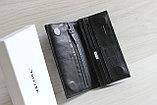 HASSION Мужское портмоне из натуральной кожи, фото 4