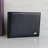 PETEK Мужское портмоне из натуральной кожи с держателем для купюр