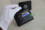 Мужское мини портмоне кардхолдер из натуральной кожи, фото 5